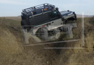 Багажник КДТ для LR Defender 90/Mercedes-Benz G/УАЗ Hunter 6 опор 2000х1400 mm.