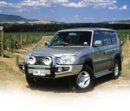 Бампер ARB Sahara с дугой для Toyota Land Cruiser Prado 90 2000-2003